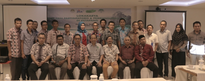 Participatory Action Research and Village Development Workshop in Ketapang